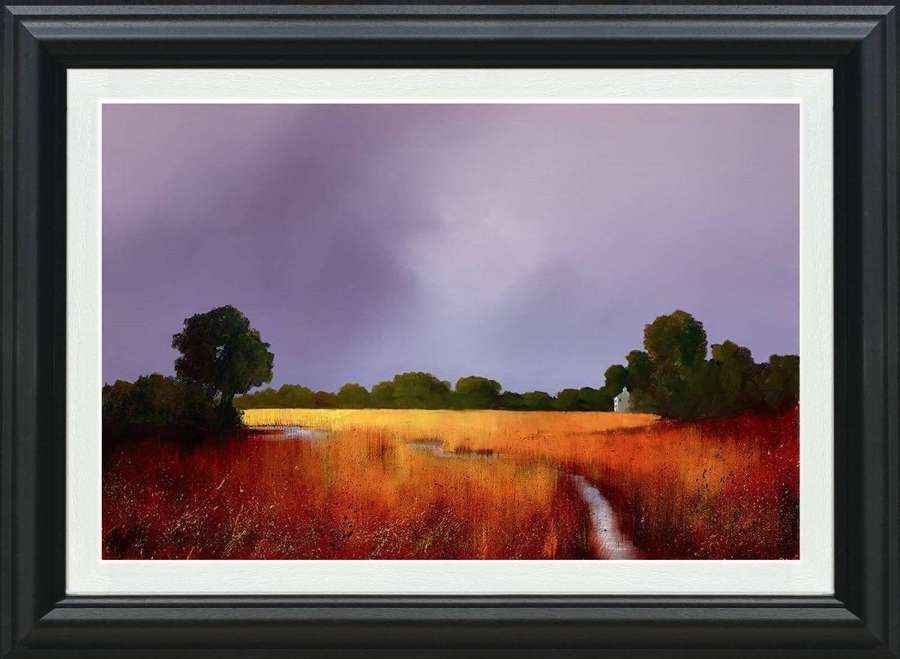 Enduring Light - Canvas Framed Art Print By Barry Hilton
