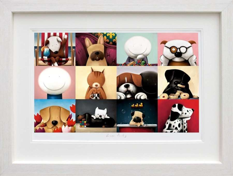 Zoom Party - Framed Art Print By Doug Hyde