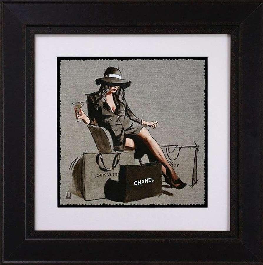 Handbags & Gladrags - Framed Study by Richard Blunt