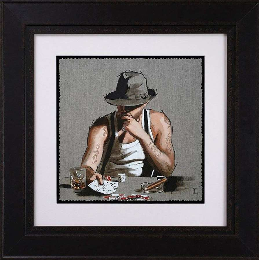 Stay Lucky - Framed Study by Richard Blunt
