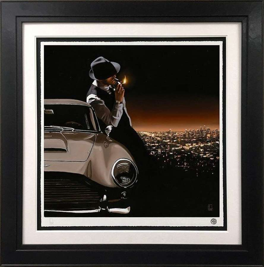 On Top of the World - Framed Art Print by Richard Blunt