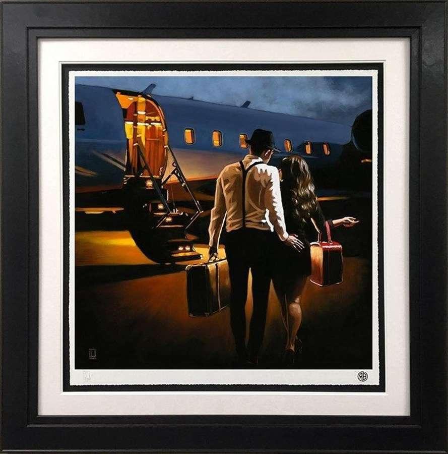Let's Elope...- Framed Art Print by Richard Blunt