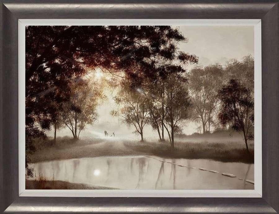 Taking Some Time For Us- Framed Art Print by John Waterhouse