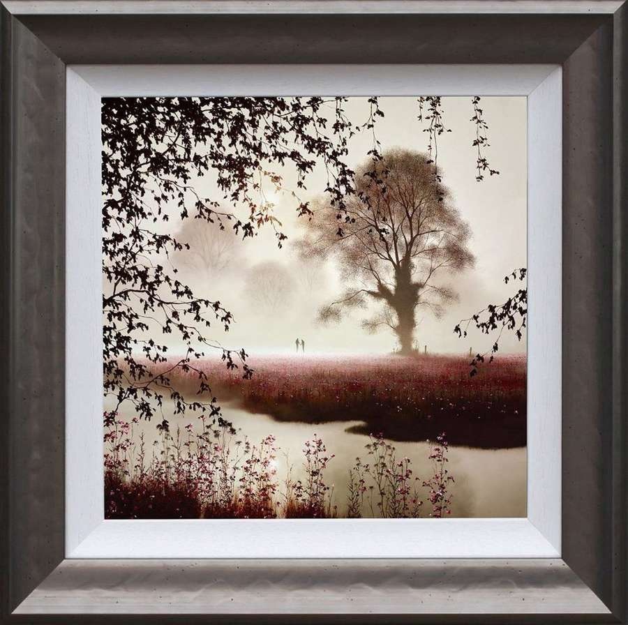 Our Time Together -Framed Art Print by John Waterhouse