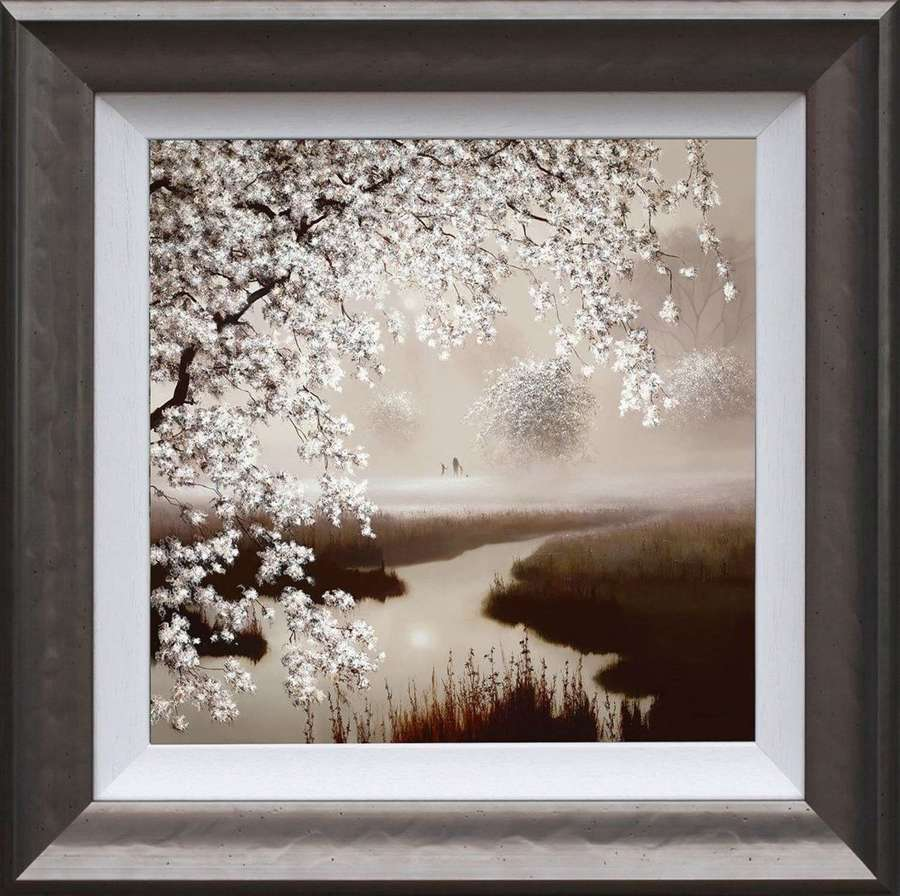 Blossoming Dreams - Framed Art Print by John Waterhouse
