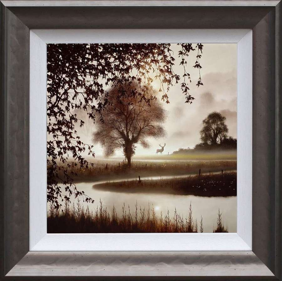 Stillness of Time - Framed Art Print by John Waterhouse