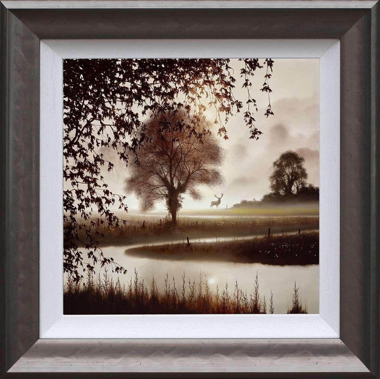 Stillness of Time -Framed Art Print by John Waterhouse