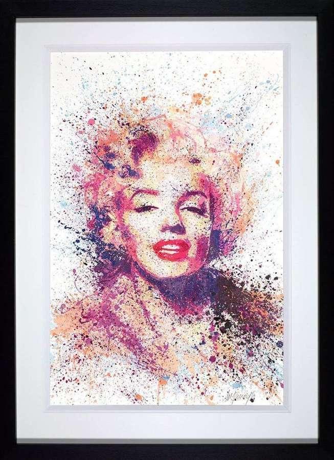 Show Girl - Framed Art Print by Daniel Mernagh