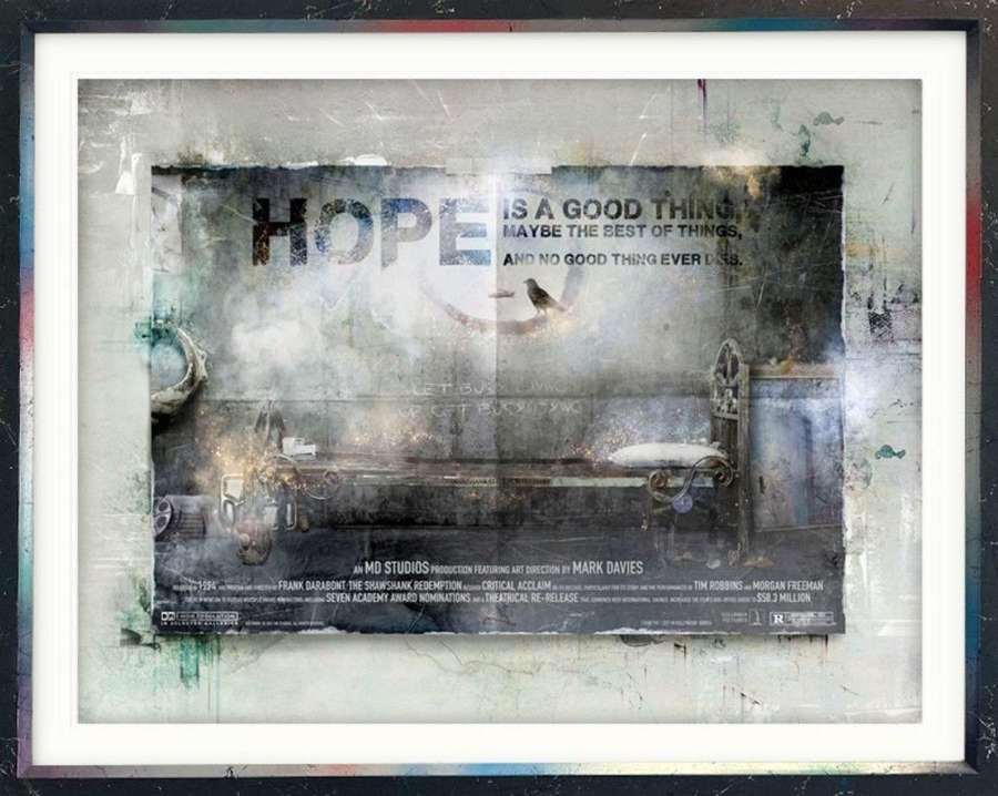 I Hope (The Shawshank Redemption) Billboard by Mark Davies