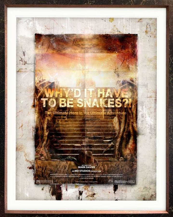 Why'd It Have To Be Snakes?! (Indiana Jones) By Mark Davies