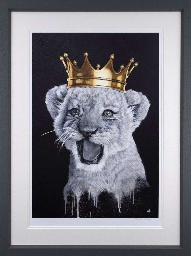 I Just Can't-Wait To Be King - Framed Art Print by Dean Martin