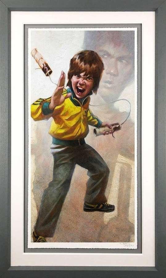 Game Of Daz Framed Art Print by Craig Davison