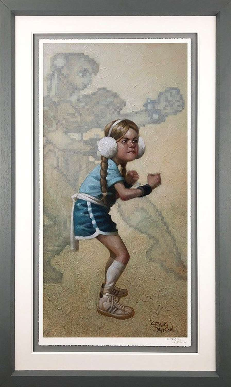 Game On Framed Art Print by Craig Davison