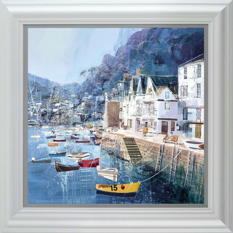 Shore Thing Framed Art Print by Tom Butler