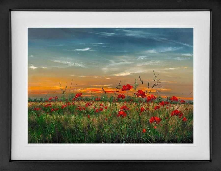 Never Forget Framed Art Print by Kimberley Harris