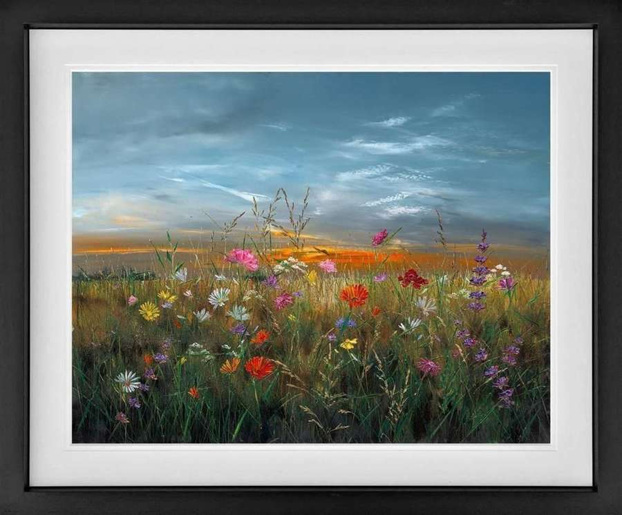 Shine on Through Framed Art Print by Kimberley Harris