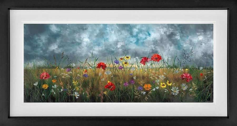 The Beauty Within Framed Art Print by Kimberley Harris