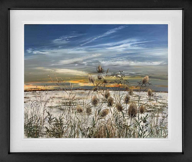 Winter - Framed Art Print by Kimberley Harris