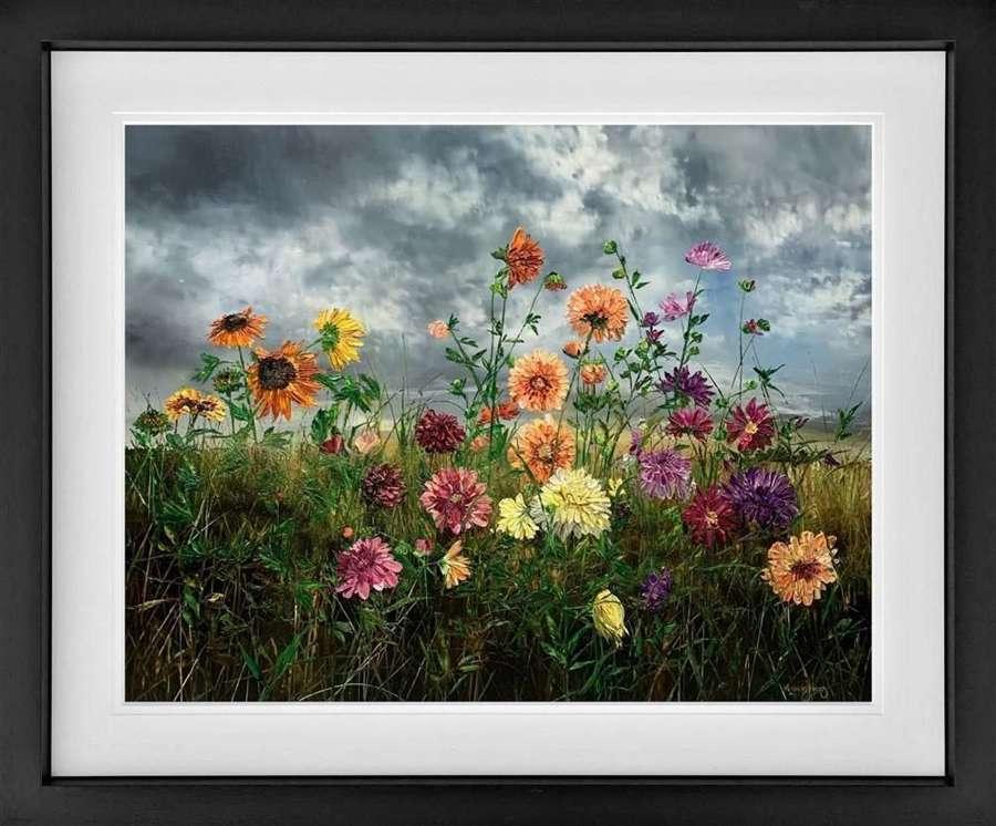 Autumn - Framed Art Print by Kimberley Harris