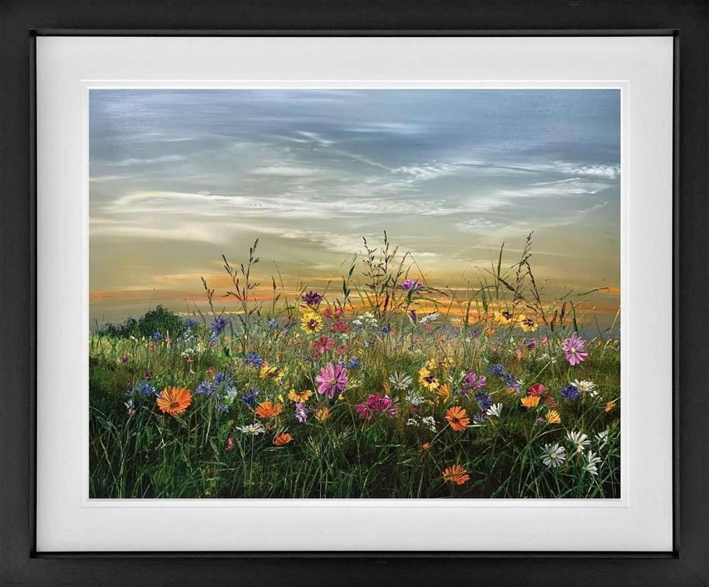 Summer - Framed Art Print by Kimberley Harris