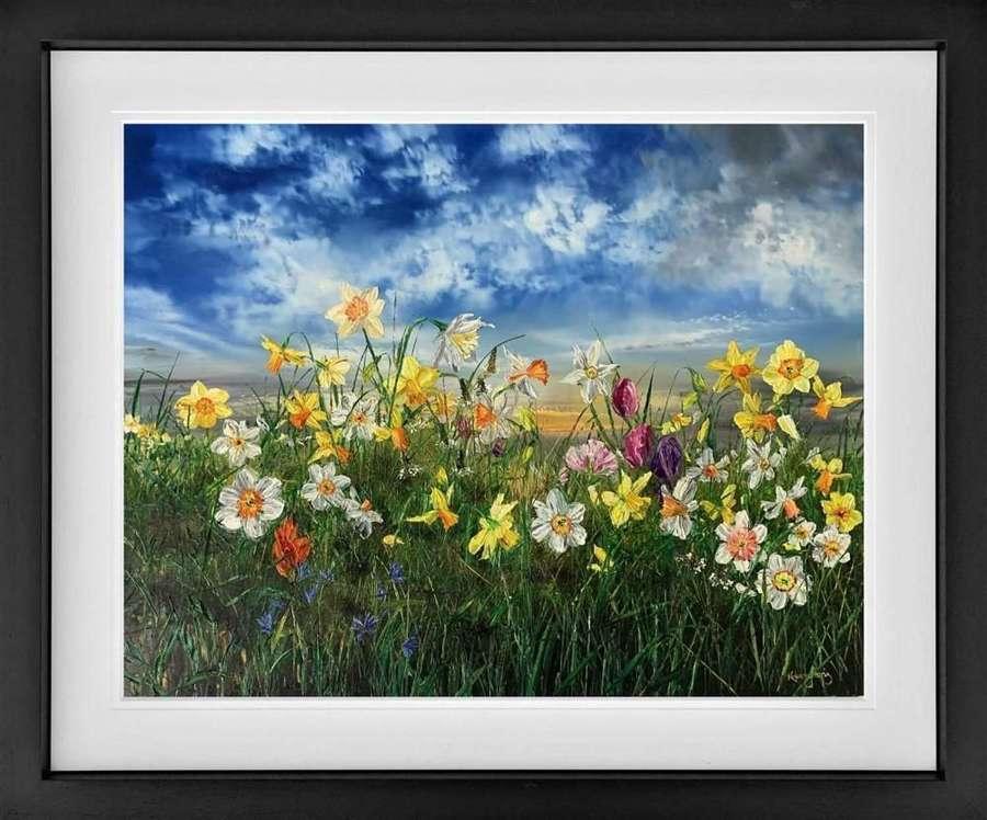 Spring - Framed Art Print by Kimberley Harris