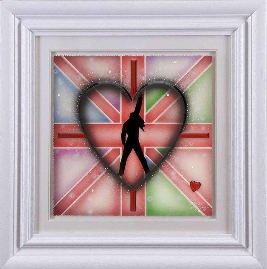 Freddie - Framed Art Print by Kealey Farmer