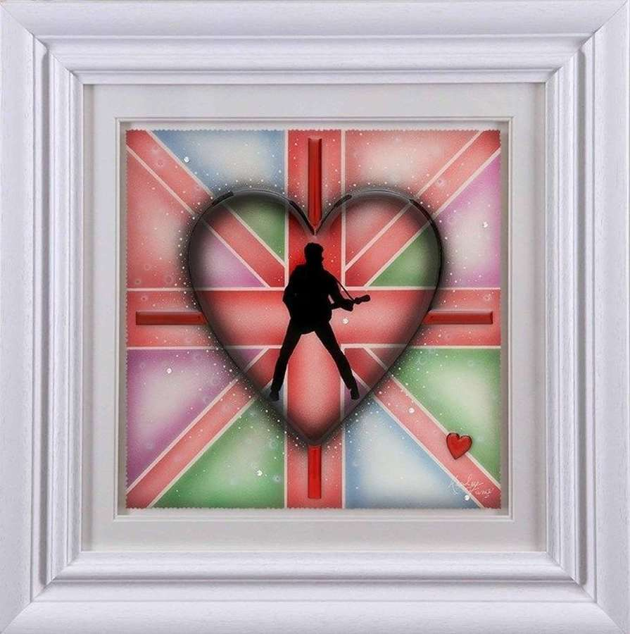 George - Framed Art Print by Kealey Farmer