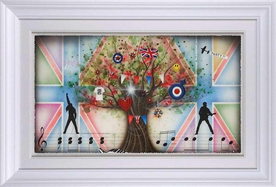 Best of British - Framed Art Print by Kealey Farmer