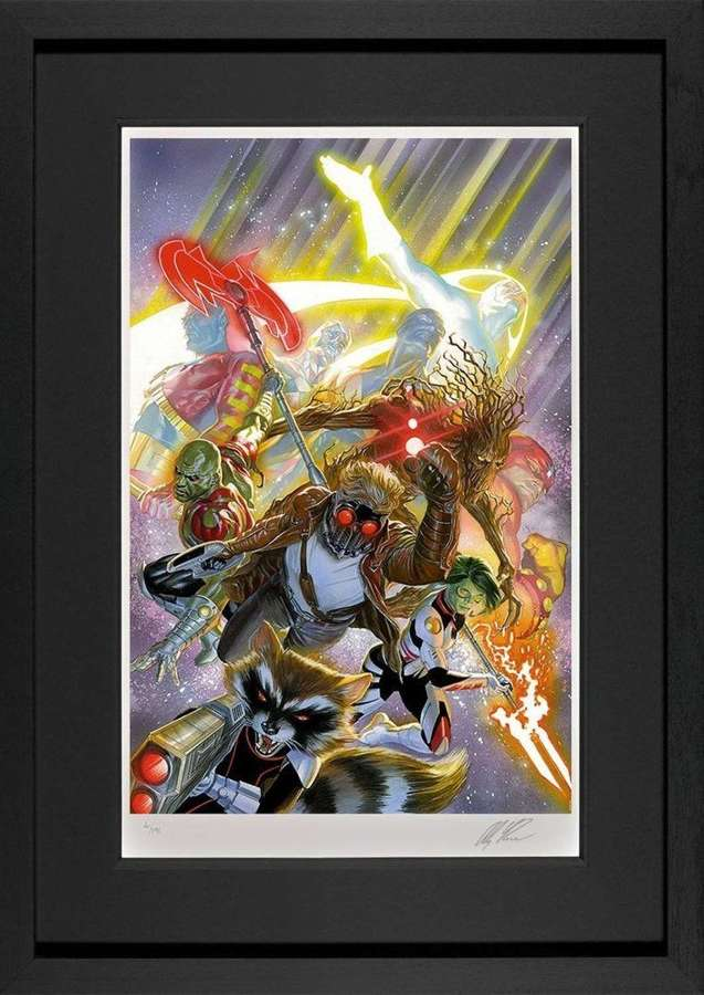 Guardians of the Galaxy Framed Art Print by Marvel-Alex Ross