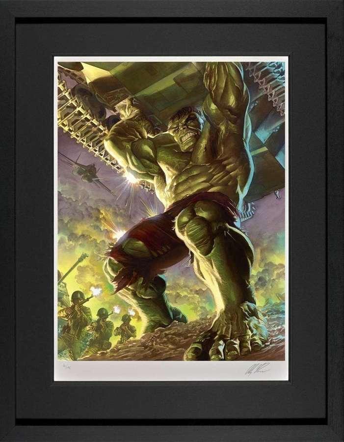 Immortal Hulk Framed Art Print by Marvel-Alex Ross