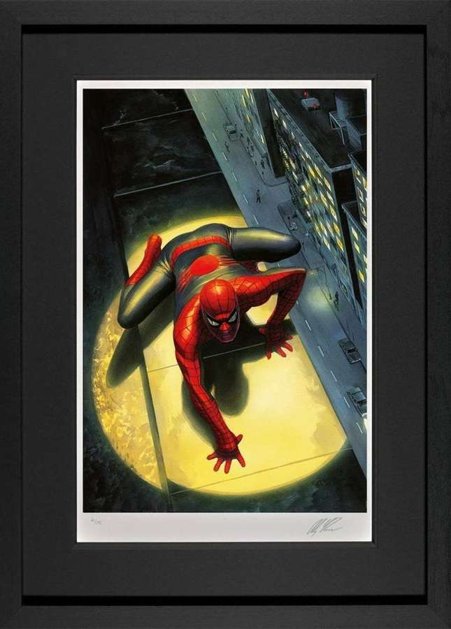 Spectacular Spider-Man Framed Art Print by Marvel-Alex Ross