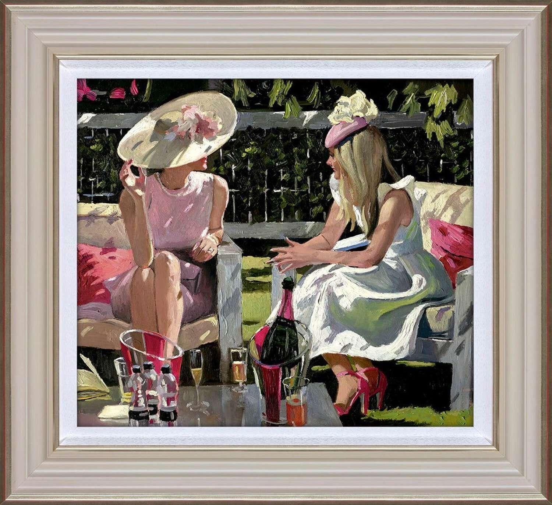 Ascot Elegance -Framed Art Print by Sherree Valentine Daines