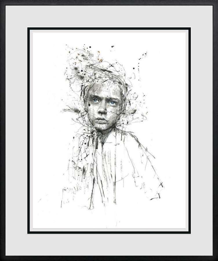 Wonder - Framed Art Print By Scott Tetlow