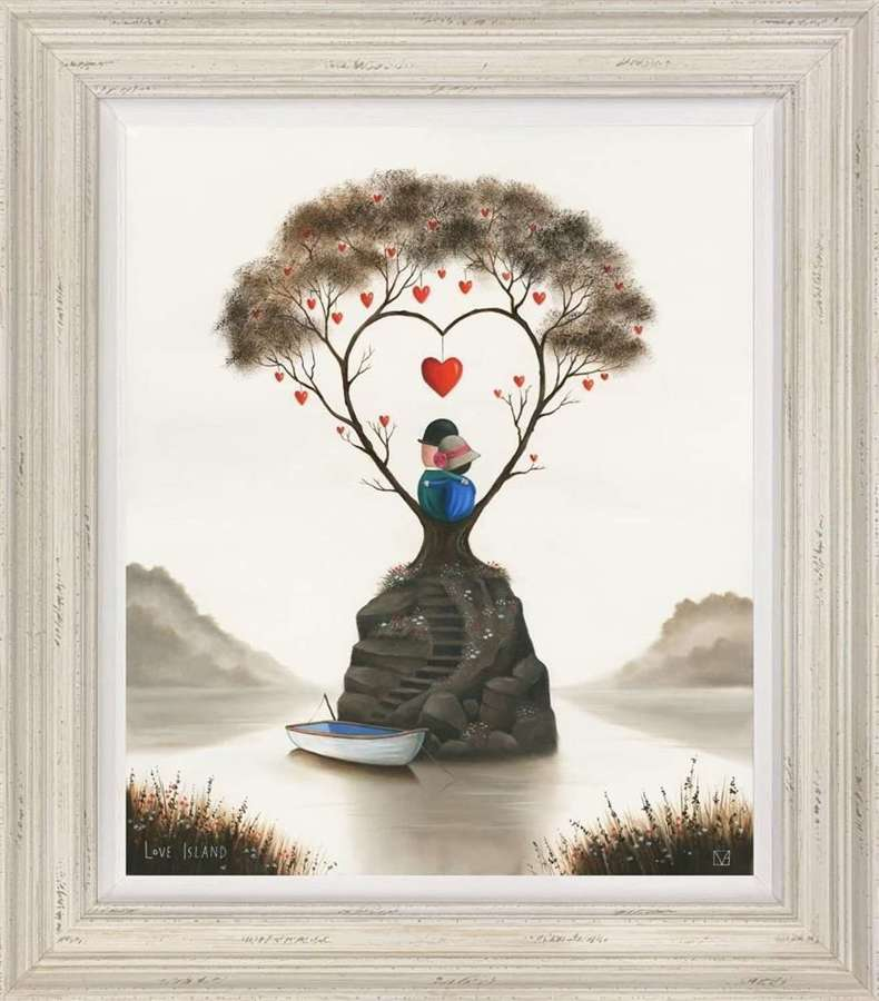 Love Island - Framed Art Print By Michael Abrams