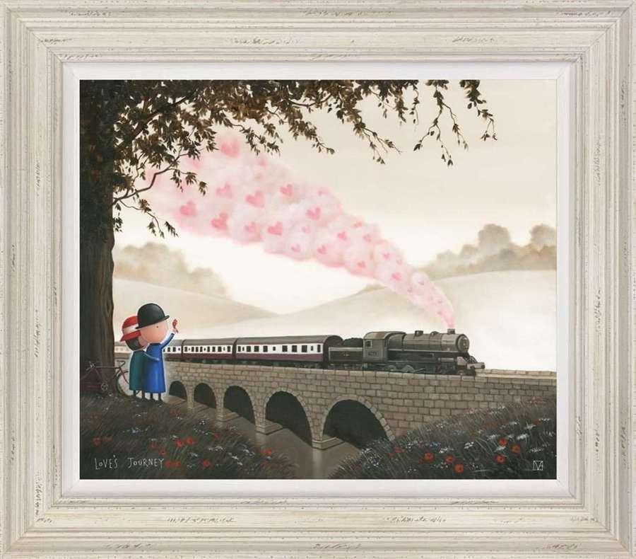 Love's Journey - Framed Art Print By Michael Abrams