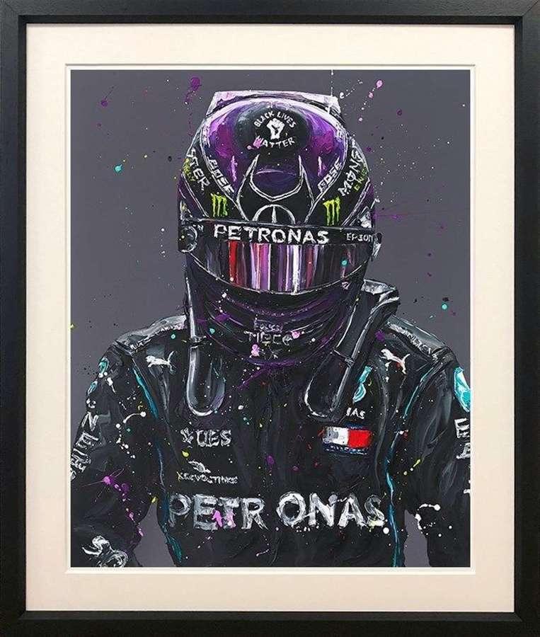 Lewis 2020 - Framed Art Print by Paul Oz