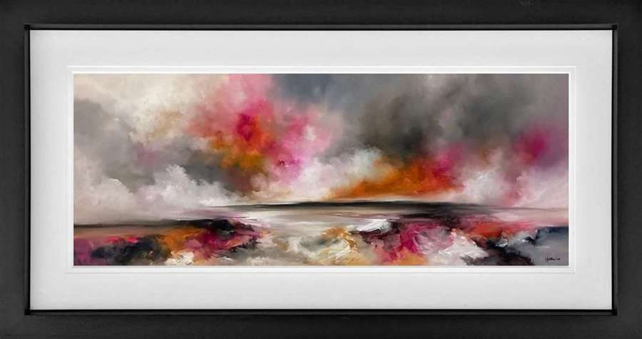 Wherever You Are - Framed Studio Edition by Alison Johnson