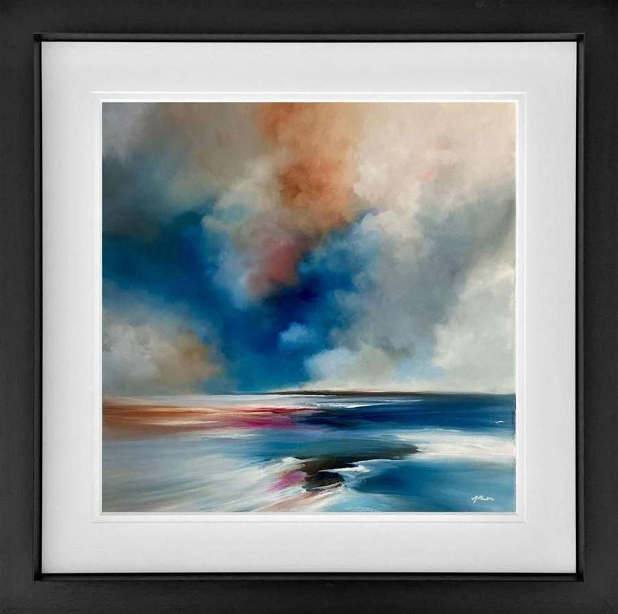 In Your Light - Framed Studio Edition by Alison Johnson