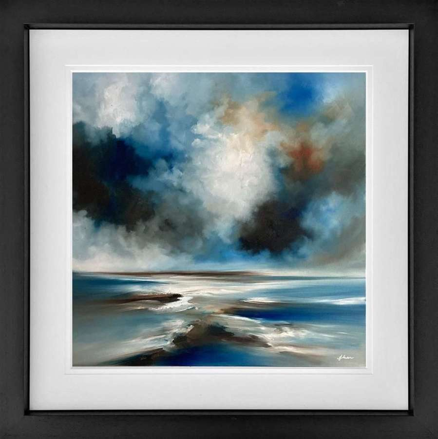 A Moment In Time - Framed Studio Edition by Alison Johnson