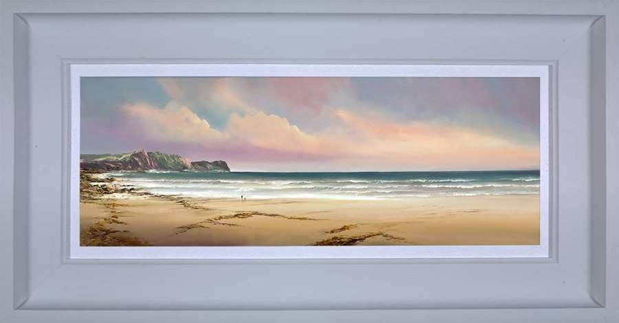 Moments to Cherish - Framed Art Print by Philip Gray