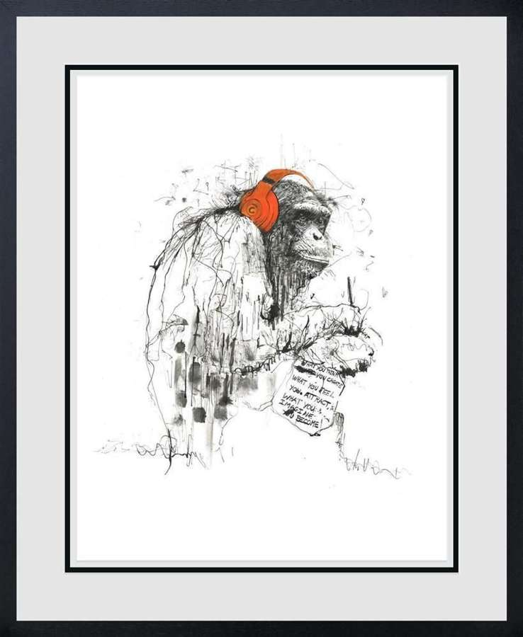 What You Imagine You become - Framed Art Print by Scott Tetlow