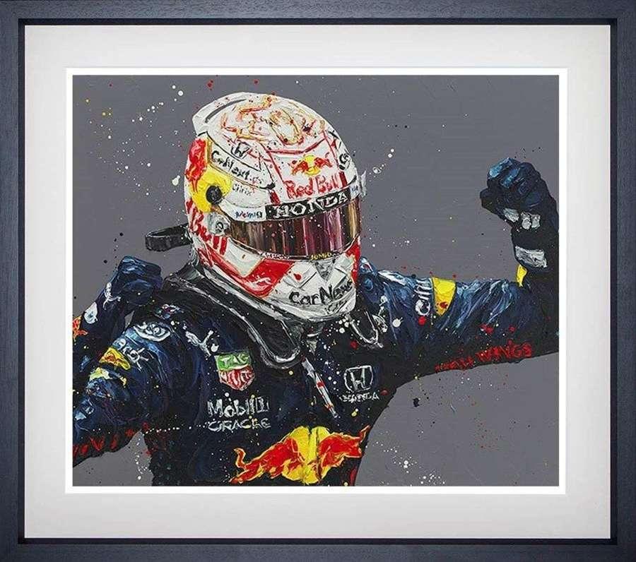 Monaco Max - Framed Art Print by Paul Oz