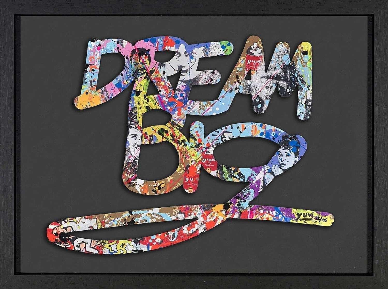Dream Big - Framed Art Print by Yuvi