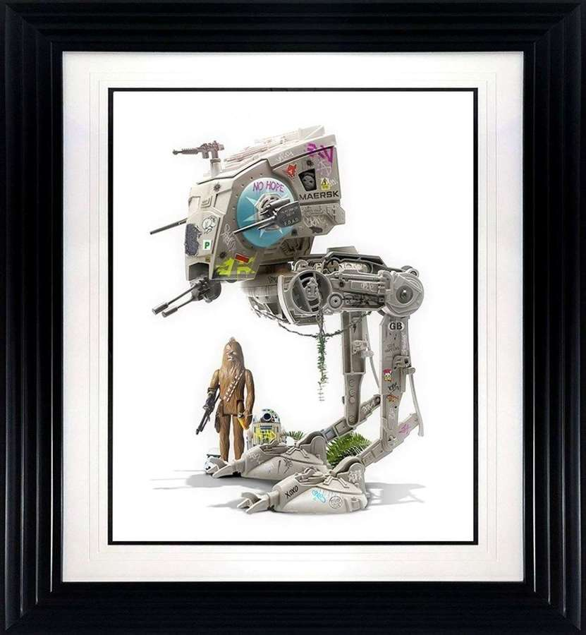 Play With Me - Framed Art Print by JJ Adams