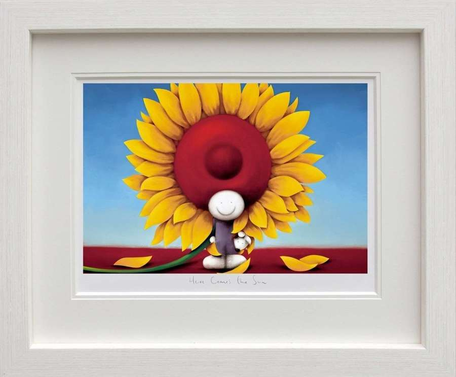 Here Comes The Sun - Framed Art Print by Doug Hyde