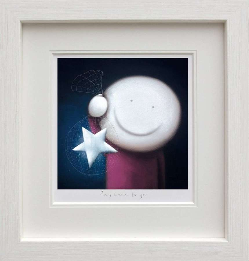 Any Dream For You - Framed Art Print by Doug Hyde