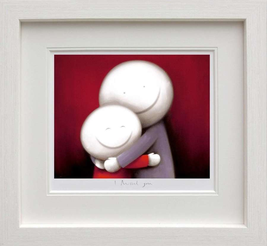 I Missed You - Framed Art Print by Doug Hyde