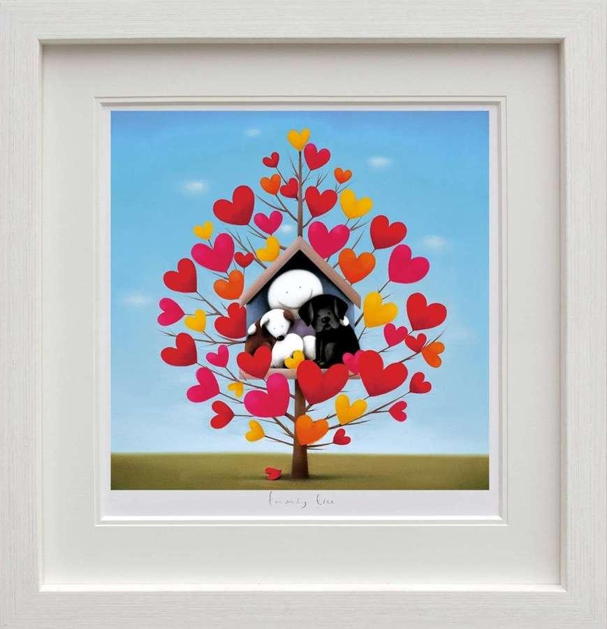 Family Tree Framed Art Print by Doug Hyde
