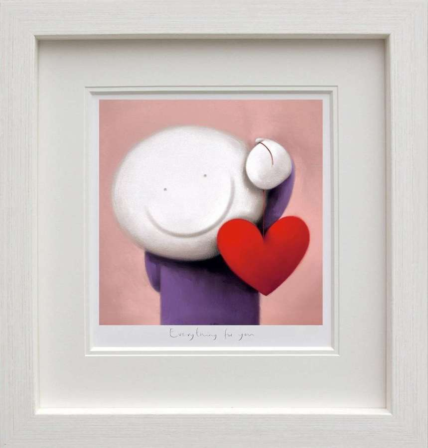 Everything For You - Framed Art Print by Doug Hyde