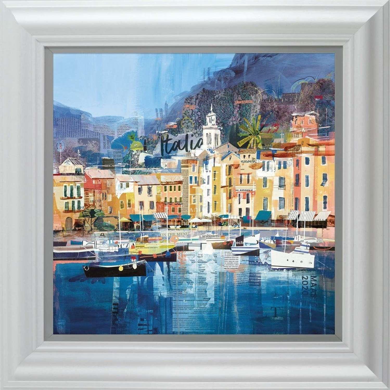 Riviera Dreaming - Framed Art Print by Tom Butler